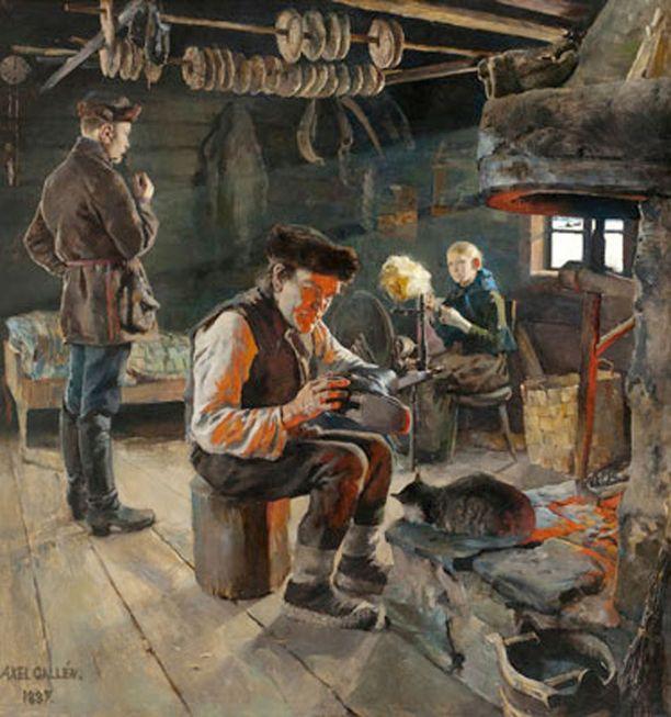 Talonpoikaiselämää -teos palasi kotimaahan, oltuaan ulkomailla runsaat sata vuotta.