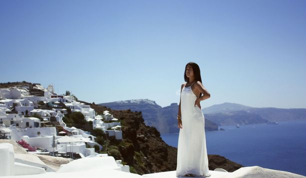 Kuvankaunis Santorini on monen unelmakohde.