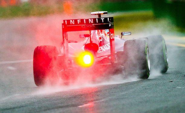 Sebastian Vettelin ajokki ei ollut täysin kunnossa.