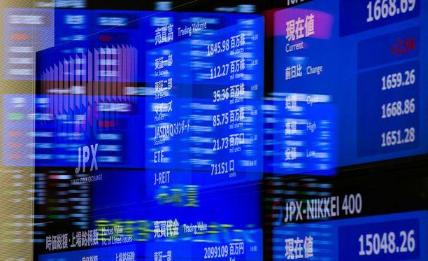 Japanissa osakkeet ovat lähteneet laskuun sen jälkeen, kun Pohjois-Korea laukaisi jälleen ballistisen ohjuksen.