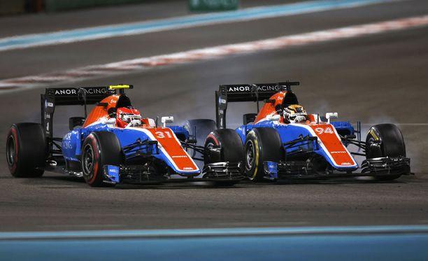 Manor-autoja ei välttämättä nähdä F1-sirkuksessa kaudella 2017.