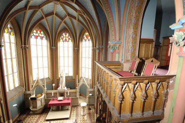 Marienburgin linnassa nähtävät huoneet ovat alkuperäisessä asussaan. Linna on yhä Hannoverin suvun omistuksessa.