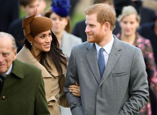 Meghan Markle ja prinssi Harry ilmoittivat kihlauksestaan marraskuussa.