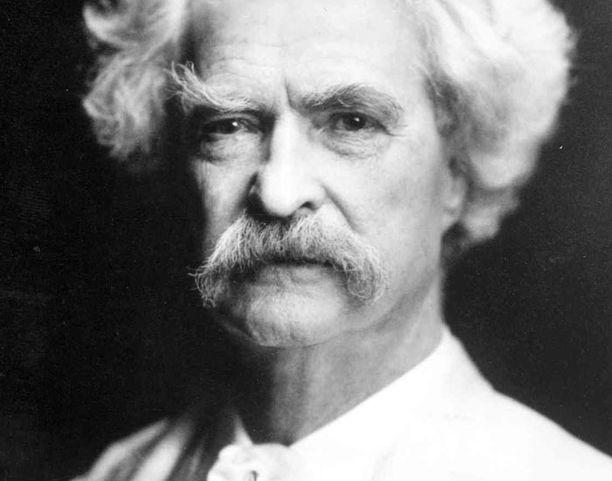 Mark Twainin kuolemasta on kulunut sata vuotta.