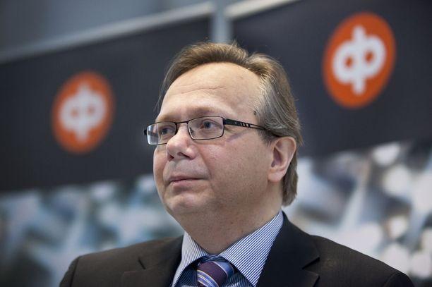 Suomen talous ei talvella yltänyt aivan niin hyvään vauhtiin kuin ennakkotietojen ja luottamusindikaattorien valossa vaikutti, OP:n pääekonomisti Reijo Heiskanen sanoo. KUVA: OUTI JÄRVINEN/KL.