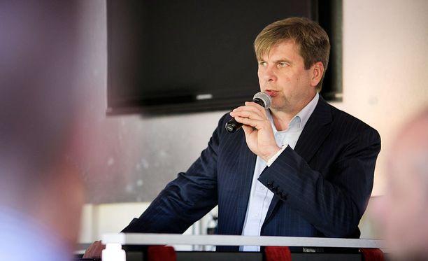 Sportin puheenjohtaja Heikki Hiltunen on ykkösehdokas SM-liigan uudeksi puheenjohtajaksi.