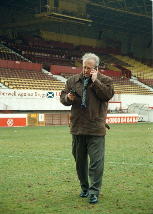 Harri Kampman oli pidetty henkilö Motherwellin Fir Parkilta vuonna 1998.