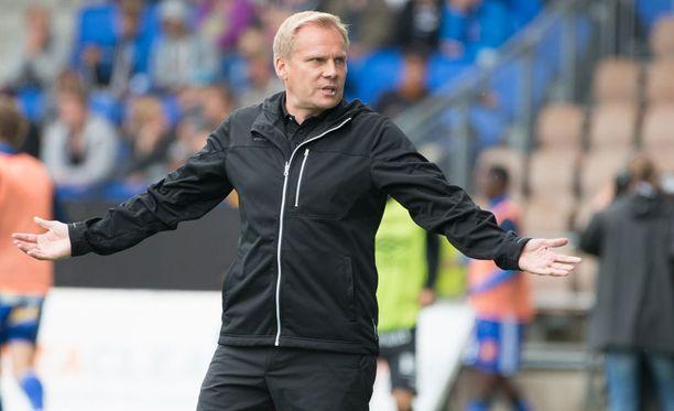 FC Lahden Toni Korkeakunnaksella ja kollega Mika Lehkosuolla riitti asiaa toisilleen ottelun jälkeen.