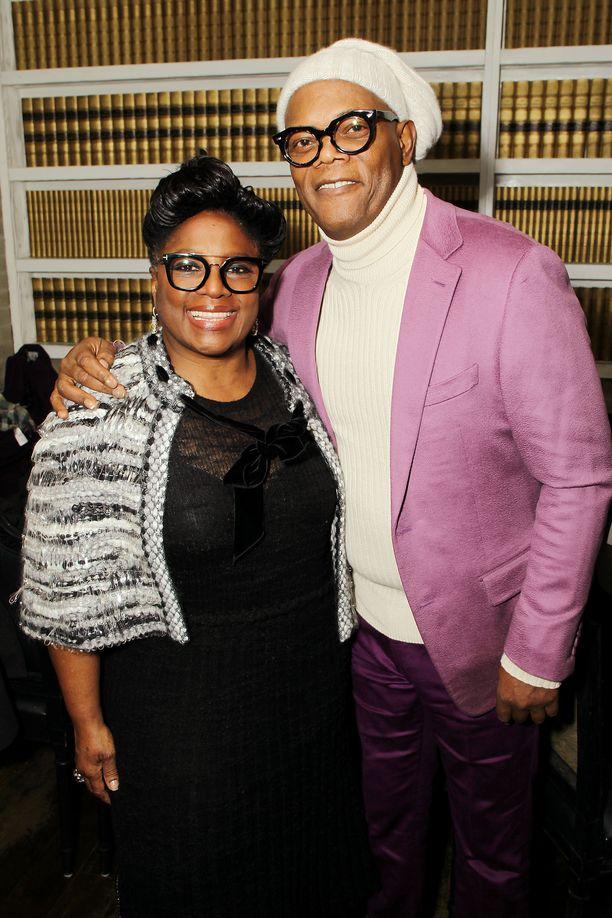 LaTanya Richardson ja Samuel L. Jackson tammikuussa 2019.