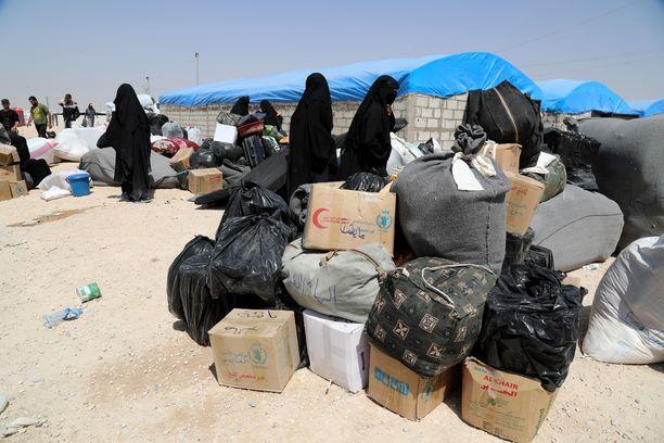 Kuva Al-Holin leiriltä kesäkuussa 2019.