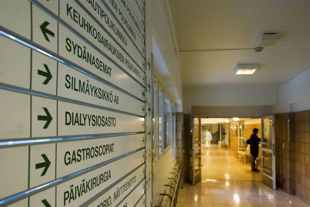 Vaasan keskussairaalassa oli sunnuntaina illalla tuhkarokkoepäily.