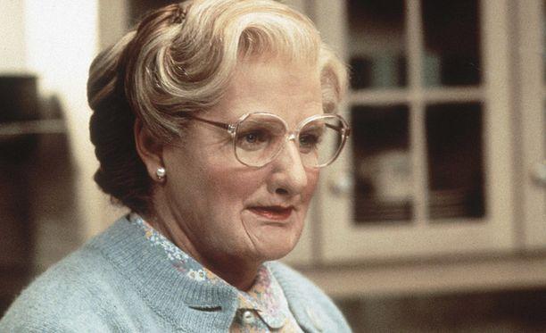 Vuonna 2014 kuollut koomikkolegenda Robin Williams esitti pääroolia Mrs. Doubfire - isä sisäkkönä -elokuvassa.