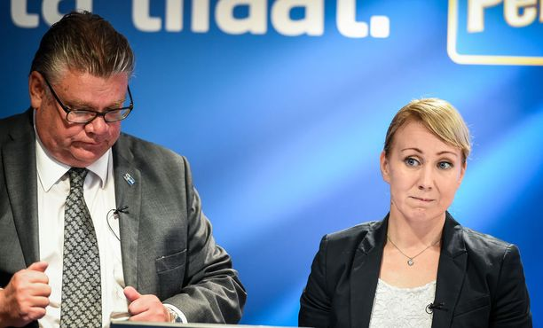 Hanna Mäntylä on Timo Soinin luotettu.