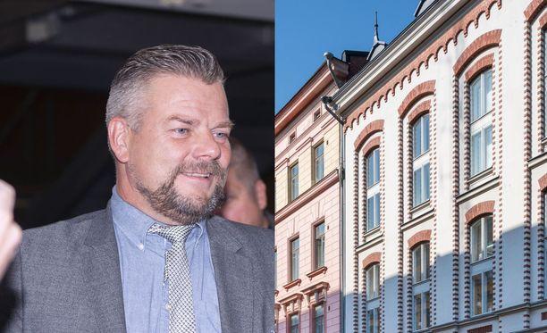 Jari Sillanpään arvohuoneisto Punavuoressa on ollut myynnissä jo puoli vuotta.