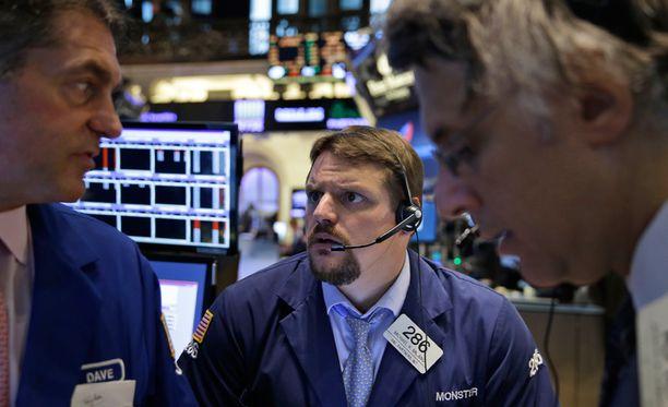 New Yorkin pörssin tilanne on vielä epäselvä.