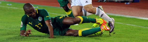 Omar Daf ja Senegal olivat kenties Afrikan cupin suuri pettymys.