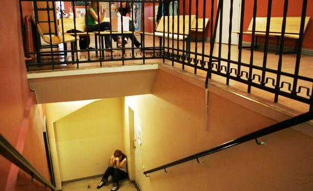 Koulukiusaaminen aiheuttaa masennusta ja ahdistusta.