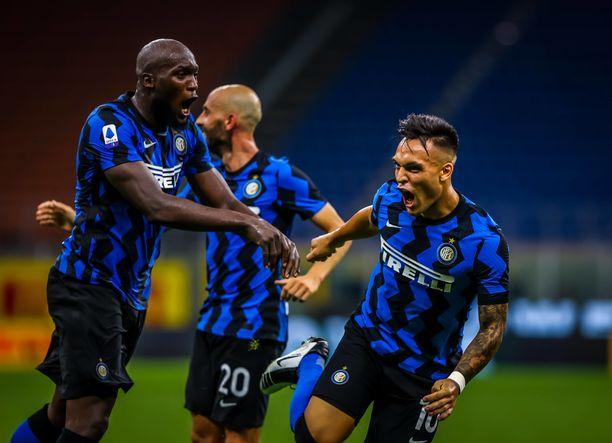 Inter jahtaa jatkopaikkaa Eurooppa-liigassa.