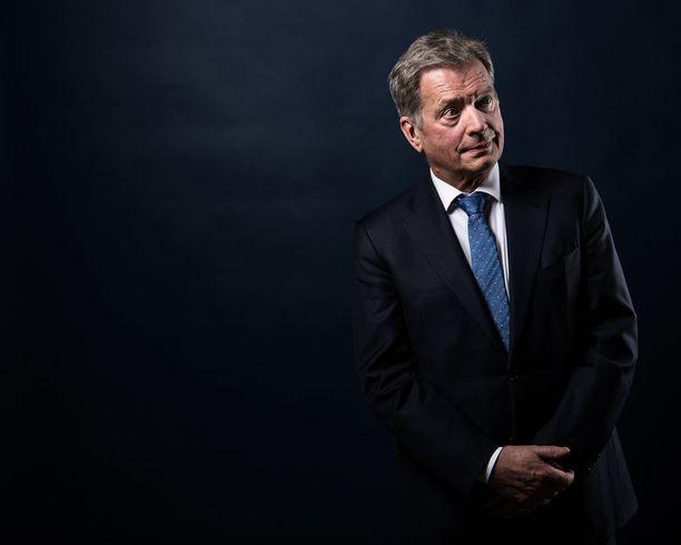 Presidentti Sauli Niinistö hakee jatkokautta valitsijayhdistyksen kautta.