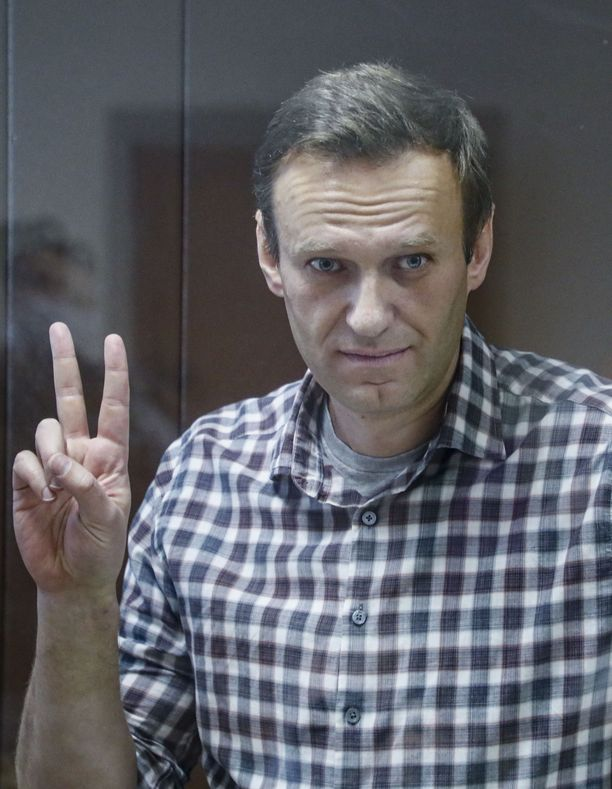 Aleksei Navalnyi painaa enää 77 kiloa.