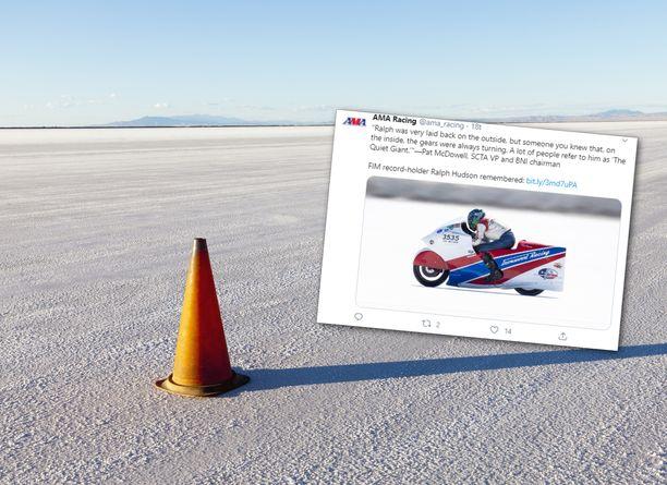 Onnettomuus sattui Bonneville Speed Week -tapahtumassa.
