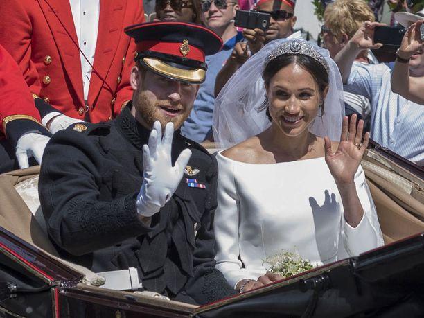 Meghan Marklesta tuli Sussexin herttuatar avioiduttuaan prinssi Harryn kanssa.