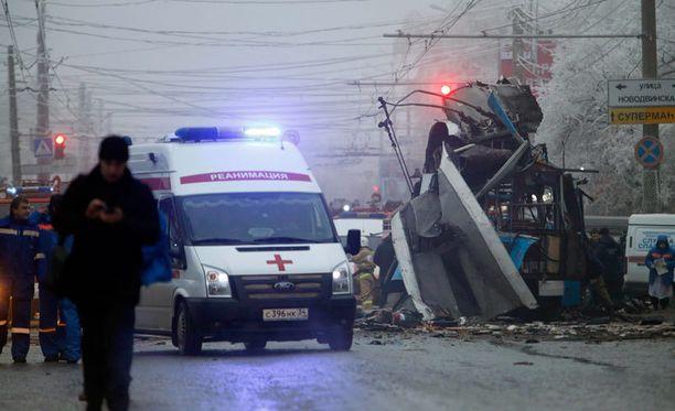 Suurin uhkakuva Sotshin olympialaisille on terrori-isku. Maanantaisessa johdinauton räjähdyksessä Volgogradissa kuoli ainakin 14 ihmistä, eilisessä rautatieasemaiskussa Volgogradissa kuoli 17 ihmistä.