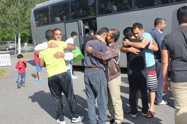 Viimeiset turvapaikanhakijat poistuivat Kivitipusta tällä viikolla.