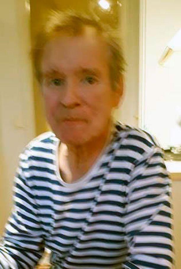 Kuvan 62-vuotias mies on kateissa Äänekoskella.