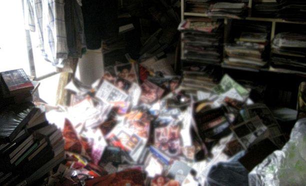 Siivousfirman mukaan kokoelman paino oli yhteensä kuusi tonnia.