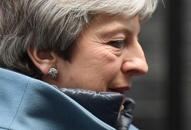 Theresa May ei ole saanut brexit-neuvottelujen aikana tukea Britannian parlamentilta.