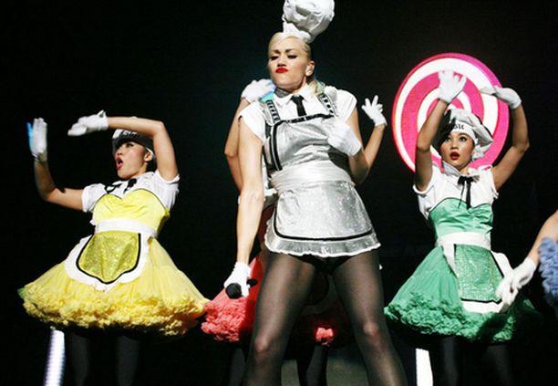 Gwen Stefani esiintyy huomenna Hartwall Areenalla.