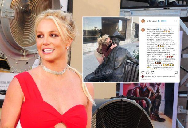 Britney Spears jatkaa levottomia Instagram-päivityksiään.