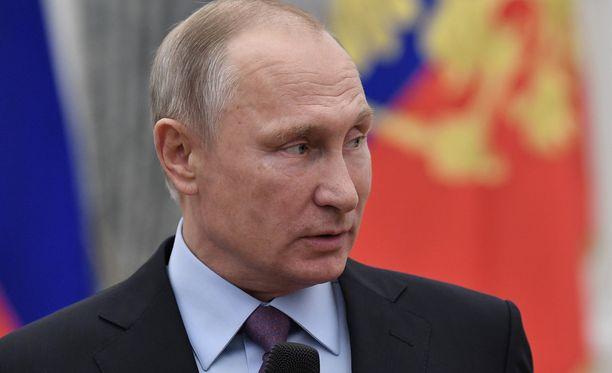 Venäjän presidentti Vladimir Putinin johtama Venäjä on tukenut Syyrian sodan aikana Bashar Al-Assadin hallitusta.