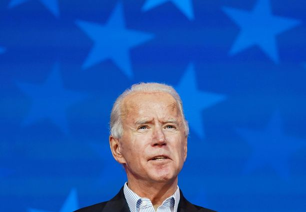 Joe Biden on Yhdysvaltain uusi presidentti.