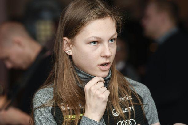 Eveliina Piippo otti uransa ensimmäisen nuorten MM-mitalin.