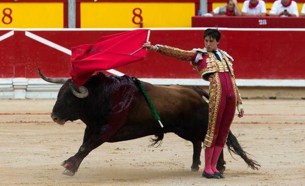 Härkätaistelut ovat pitkään olleet Espanjassa kyseenalaisia. Kuvan taistelu ei liity kuolemantapaukseen.