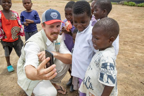 Jasper Pääkkönen teki hiljattain UNICEF-matkan Malawiin.
