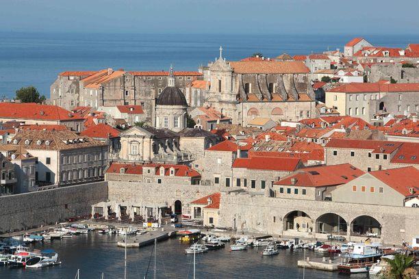 Dubrovnikin vanhakaupunki on maalauksellisen kaunis.
