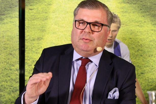 Ari Lahti voitti puheenjohtajavaalin.