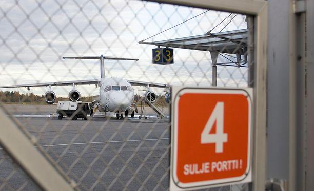 Turun Lentokenttä Pysäköinti