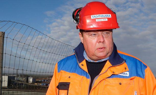 Talvivaaran ex-toimitusjohtaja Pekka Perä.