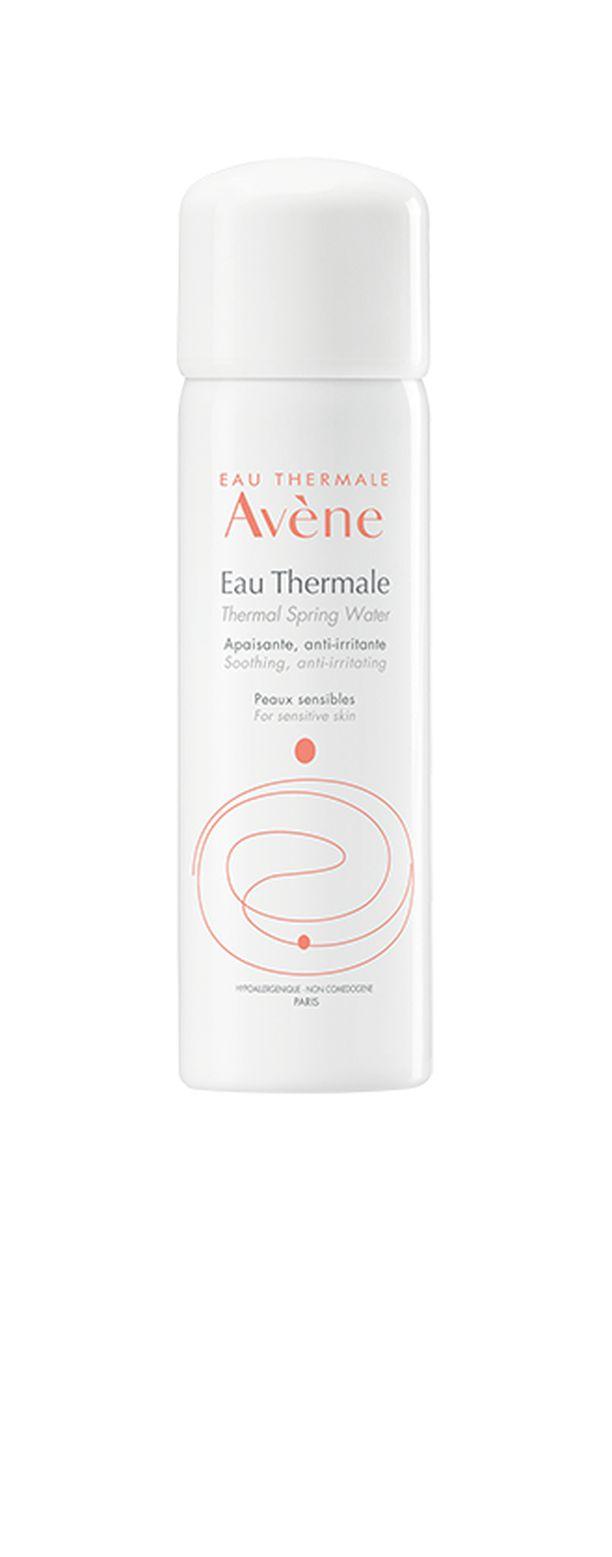 Avéne Terveyslähdevesi on erinomainen tuote saunan jälkeen rauhoittamaan ihoa.  Se myös viilentää sopivasti auringonoton jälkeen.