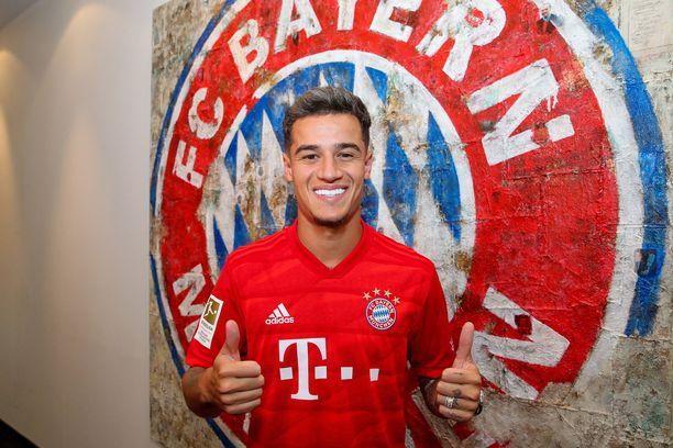Philippe Coutinho on Bayernin mies ainakin yhden kauden ajan.
