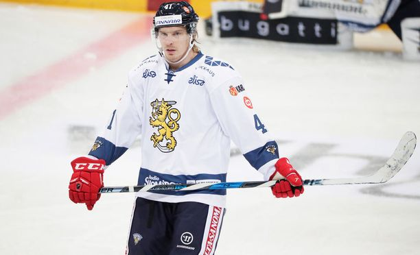 Antti Pihlström kuuluu Leijonien vakiokalustoon.