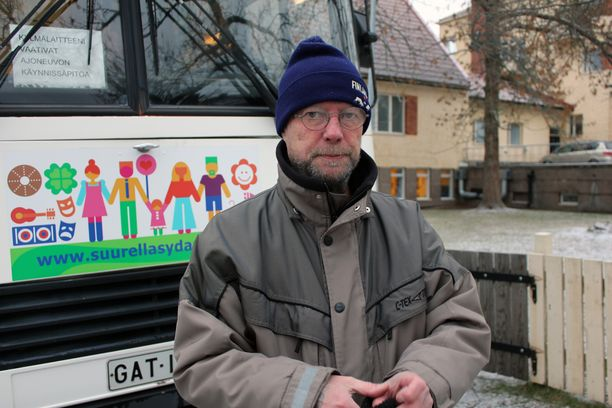 Harri Lilja kävi RuokaNyssessä ensimmäisen kerran viime syksynä.