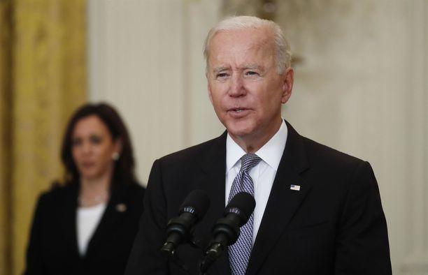 Joe Biden haluaa korottaa rikkaimpien amerikkalaisten verotusta.