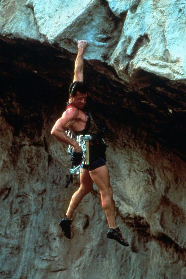 Sylvester Stallone nähtiin Renny Harlinin ohjaamassa Cliffhangerissa vuonna 1993.