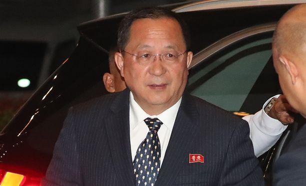 Pohjois-Korean ulkoministeri Ri Yong-ho sanoo, että Etelä-Korean kehotus vuoropuhelusta ei ole vilpitön.