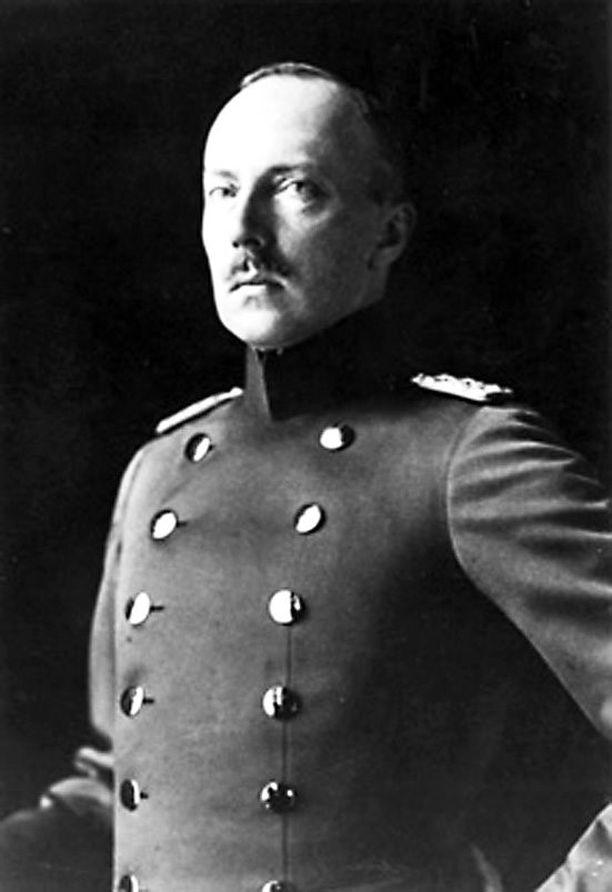 Suomen ensimmäinen kuningas Friedrich Karl.